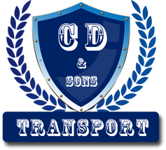 C D and Sons Transport Logo